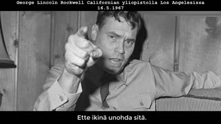 George Lincoln Rockwell - Totuus