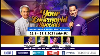 YOUR LOVEWORLD SPECIALS PASTORI CHRISIN & PASTORI BENNYN KANSSA 25.1.2021