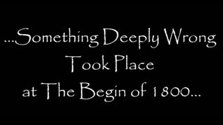 THE HUMANITY RESET of 1800 - The Missing People Enigma