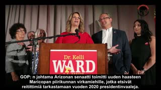 Kelli Ward Threatens Arrests If Officials Do Not Comply In Audit (tekstitys)