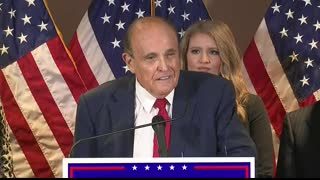 Lawyers for President Donald Trumps campaign hold press conference