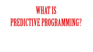 What is Predictive Programming 100% Proof of Hollywood Brainwashing & Foreknowledge ▶️️