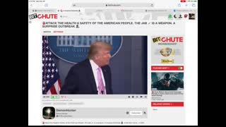 """Donald Trump: """"My Blood is the Vaccine"""""""