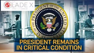 President in Critical Condition from Virus in CladeX Simulation | Leeland Jones