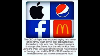 Big companies leaders rejects own products
