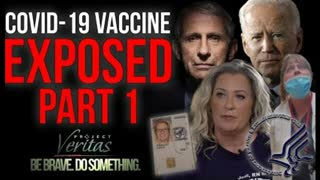 """Federal Govt HHS Whistleblower Goes Public With Secret Recordings 'Vaccine is Full of Sh*t""""."""