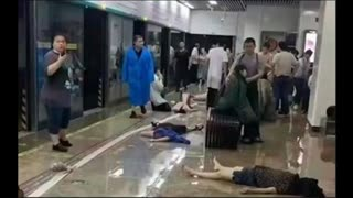 More video out of China. Some survived, some did not. This is what weather warfare looks like.