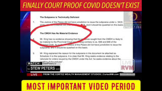FINALLY COURT PROOF COVID DOES NOT EXIST