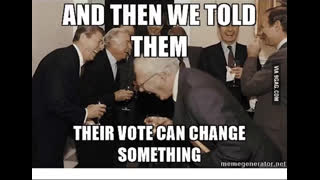 Vote can change