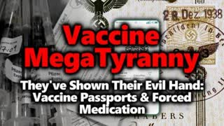 INSANE TYRANNY - Push For VACCINE PASSPORTS & FORCED MEDICINE Is BEYOND Evil. Will You Resist?