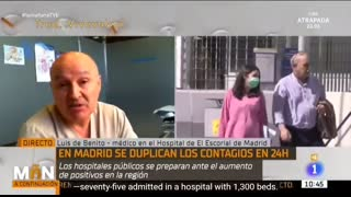 Spanish Doctor destroys government-media covid 'crisis' narrative